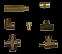 Brass fitting parts
